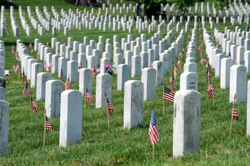 Memorial Day Tombstones
