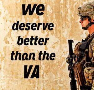 we deserve better than the va