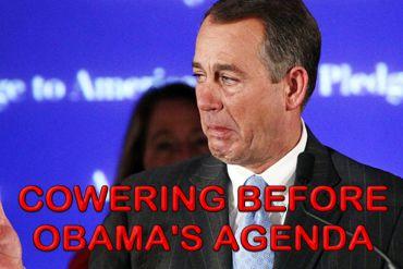 Boehner COWARD 2
