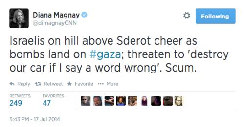 CNN Scum Diana Magnay