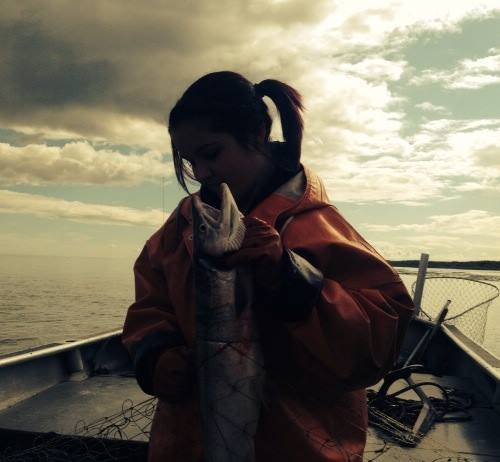 Piper Slaying Salmon