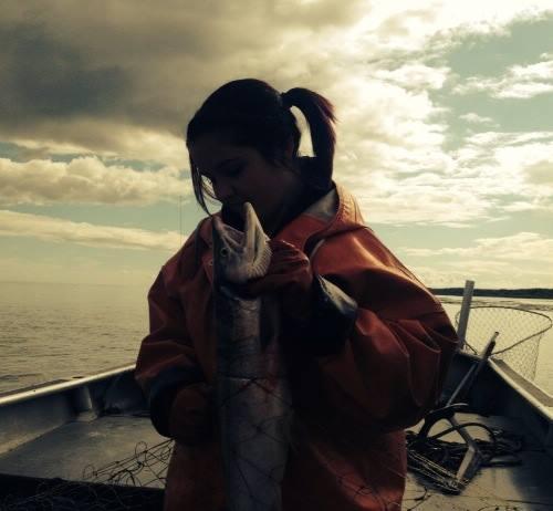 Piper Slaying Salmon