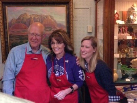 Governor Palin Senator Roberts Pancake 3