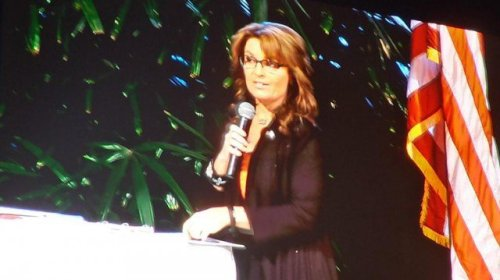 Palin and Patriots United We Stand evernt