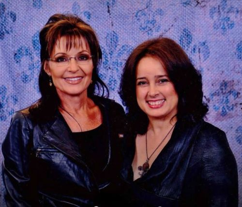 Sarah Palin and me at NOLA