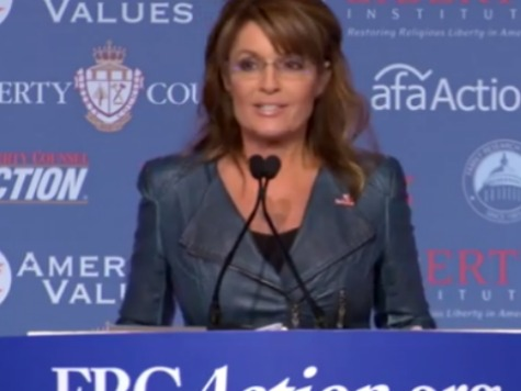 Sarah Palin Values Voters