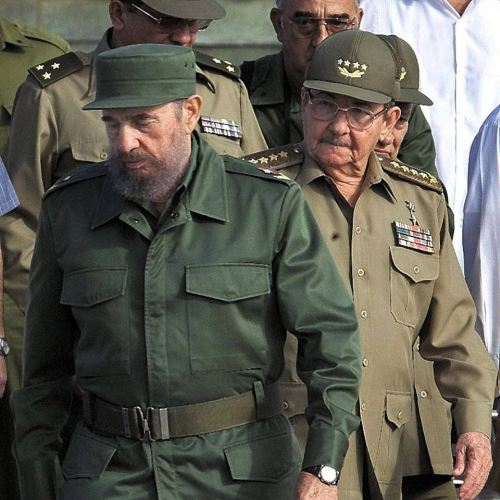 raul and fidel