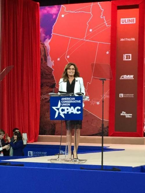 Governor Sarah Palin at CPAC 2015