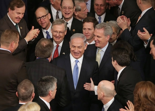 BiBi Speaks to Congress