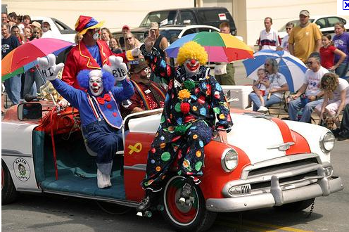 GOP clown-car