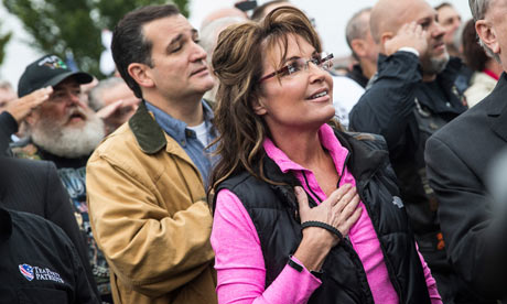 Sarah Palin and Senator Ted Cruz