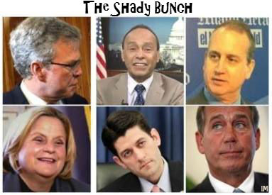 The Shady Bunch