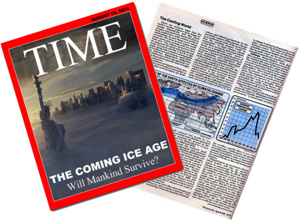 Time Magazine Coming Ice Age Cover