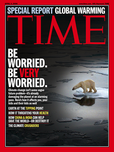 Time Magazine Polar Bear