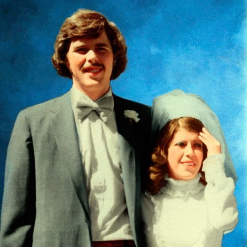 je bush's wedding picture