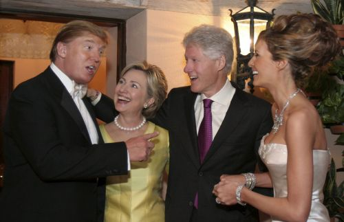Trump and The Clintons